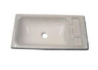 RECTANGULAR BASIN WHITE HIPS